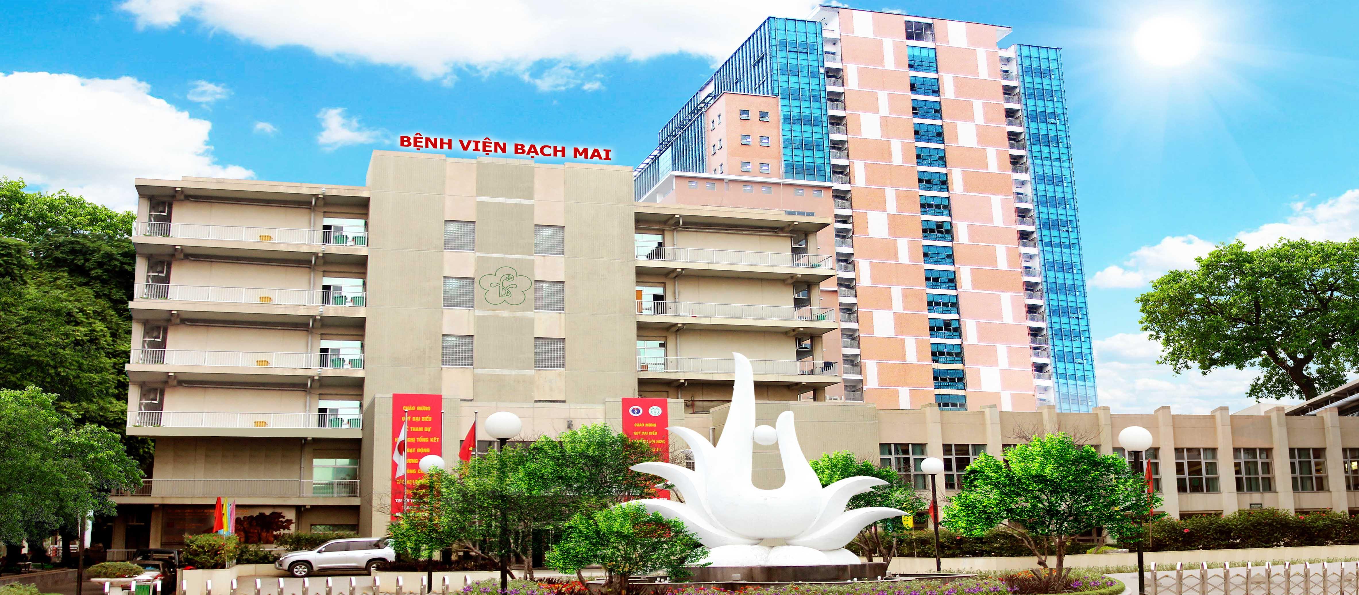 Thăm khám & điều trị tại bệnh viện Bạch Mai thời điểm dịch Covid-19 cầ