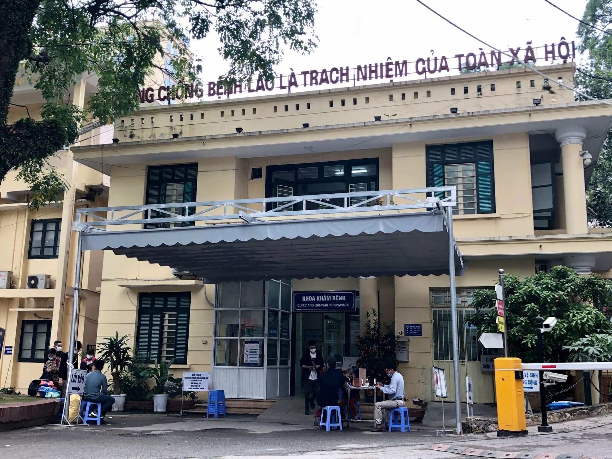Hướng dẫn đi khám tại Khoa khám bệnh - Bệnh viện Phổi trung ương